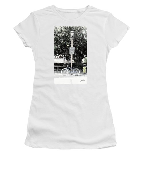 Bus Stop Women's T-Shirt (Athletic Fit)