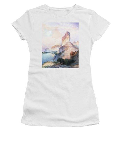Butte Green River Wyoming Women's T-Shirt