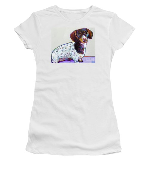 Women's T-Shirt (Junior Cut) featuring the painting Buttercup by Robert Phelps