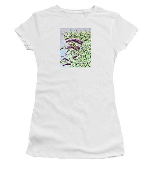 Butterfly Bush Women's T-Shirt