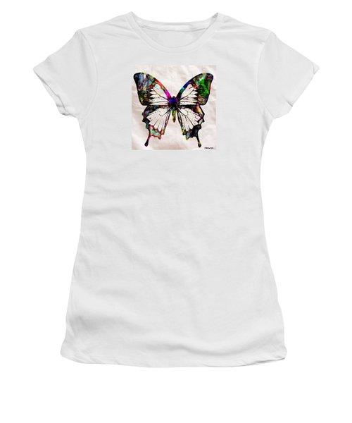 Butterfly Rainbow Women's T-Shirt