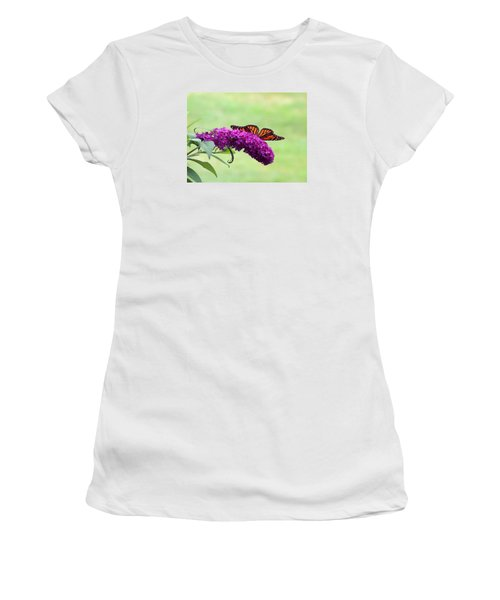 Butterfly Wings Women's T-Shirt (Athletic Fit)