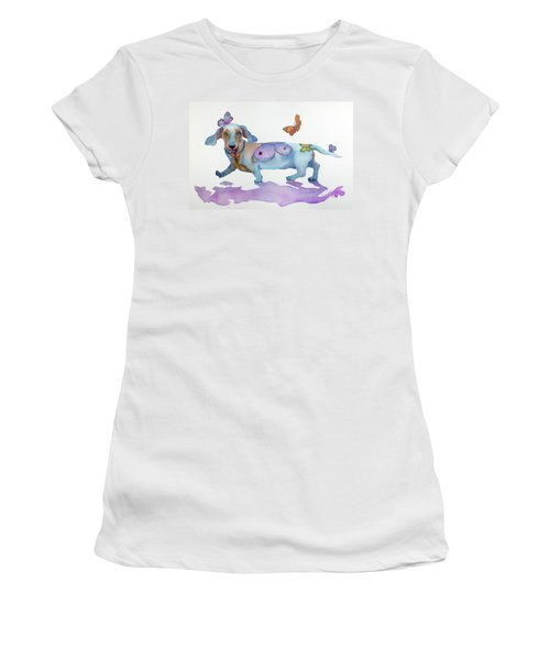 Butterfly Doxie Doo Women's T-Shirt