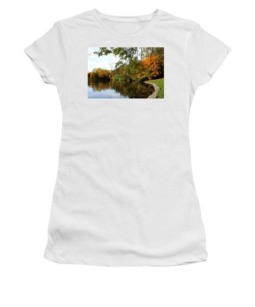 By The Pond Women's T-Shirt (Athletic Fit)