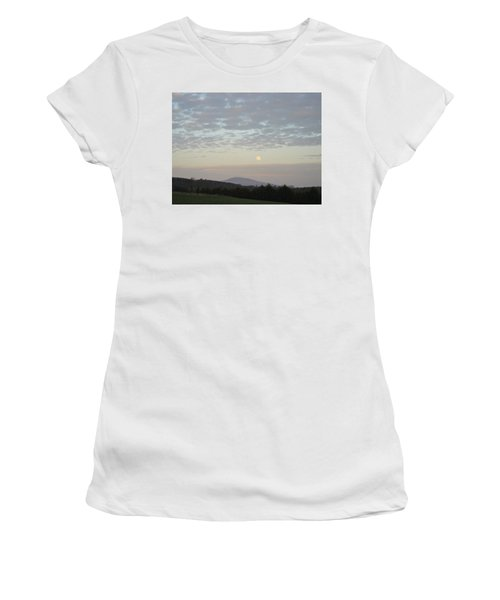 By The Rising Of The Moon Women's T-Shirt (Junior Cut) by Suzanne Oesterling