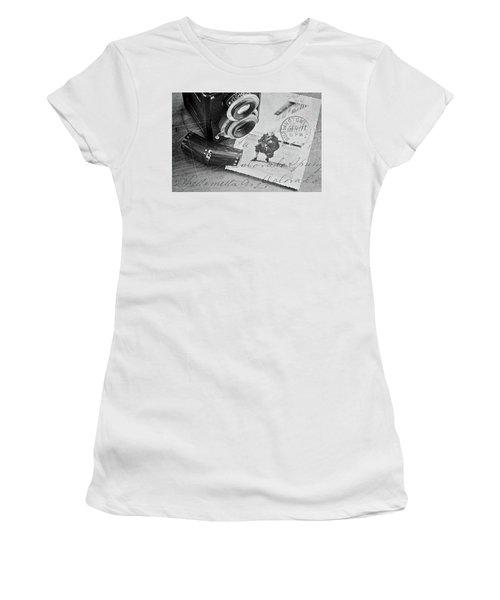 Bygone Memories Women's T-Shirt (Junior Cut) by Patrice Zinck
