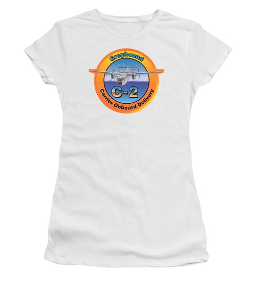 C-2 Greyhound Women's T-Shirt (Athletic Fit)