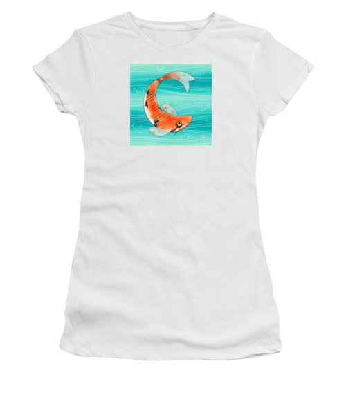 C Is For Cal The Curious Carp Women's T-Shirt