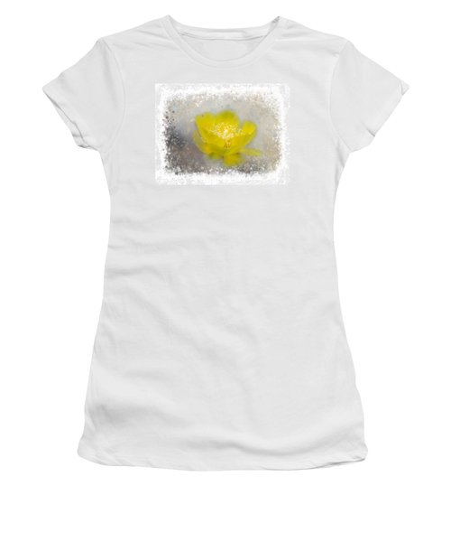 Women's T-Shirt featuring the photograph Cactus Flower by Judy Hall-Folde