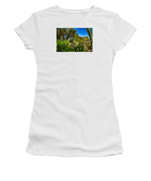 Cactus Paradise Women's T-Shirt (Athletic Fit)
