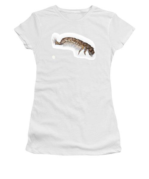 Caddisfly Larva Nymph Psychomiidae Hydropsyche Pellucidula -  Women's T-Shirt