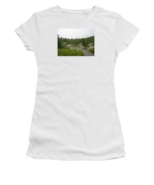 Cadillac Mountain Women's T-Shirt (Athletic Fit)