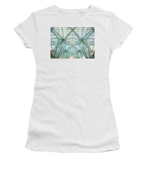 Calatrava In Toronto 10 Women's T-Shirt (Junior Cut) by Randall Weidner