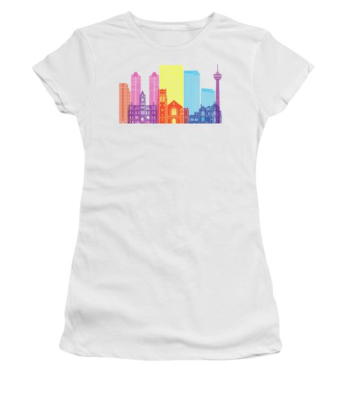 Calgary V2 Skyline Pop Women's T-Shirt