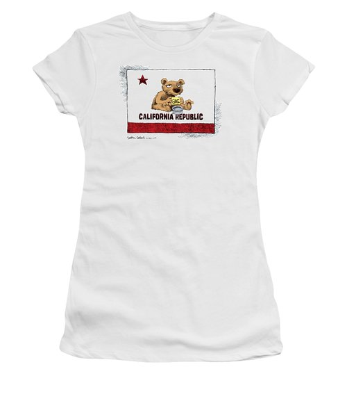 California Budget Begging Women's T-Shirt