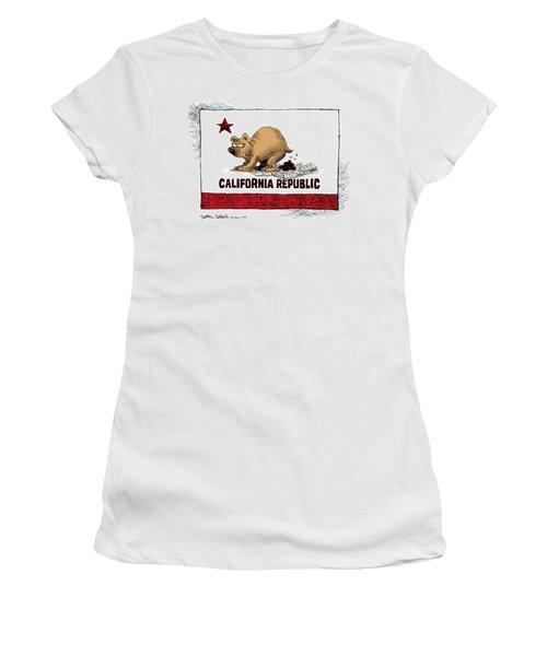 California Budget Iou Women's T-Shirt