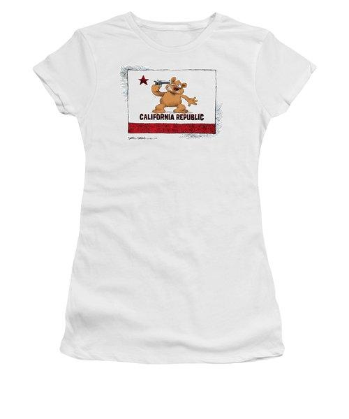 California Budget Suicide Women's T-Shirt