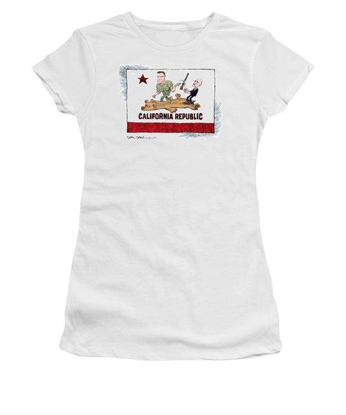 California Governor Handoff Women's T-Shirt