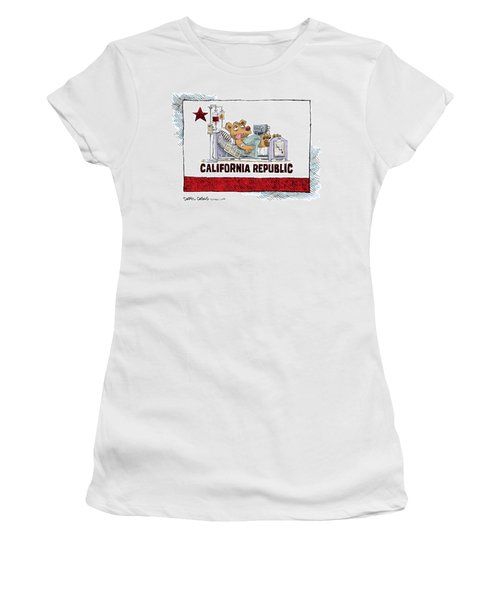 California Is Sick Women's T-Shirt