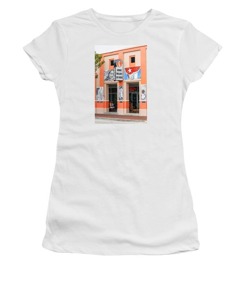 Calle Ocho Shop Women's T-Shirt (Athletic Fit)