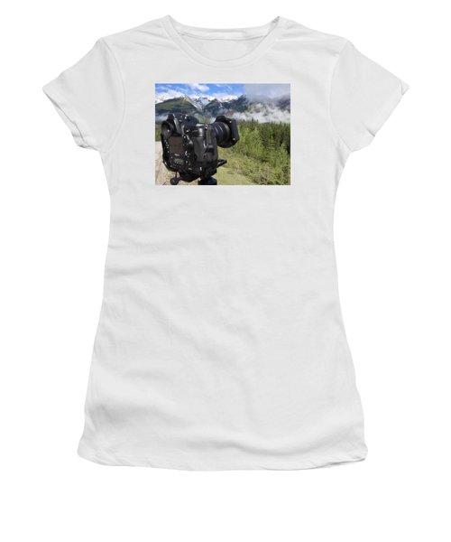 Camera Mountain Women's T-Shirt