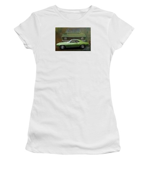 Camero Women's T-Shirt (Junior Cut) by Jim  Hatch