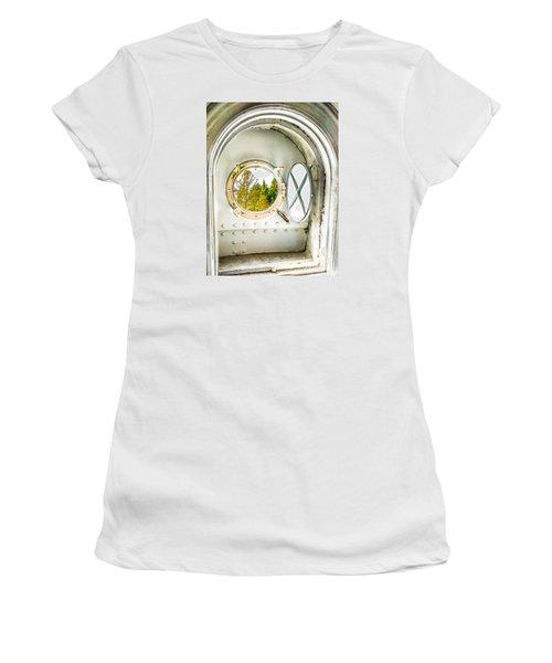 Cana View Women's T-Shirt (Junior Cut) by Jim Rossol