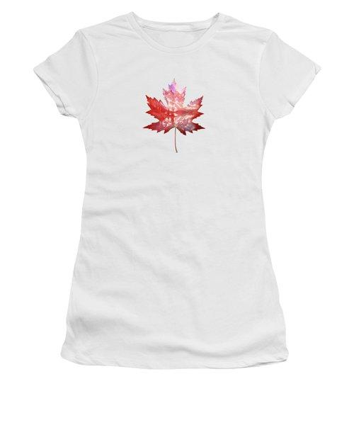 Canada Maple Leaf Women's T-Shirt