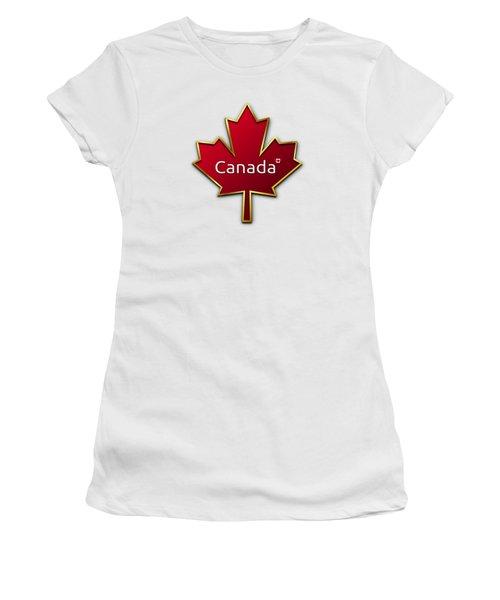 Canada Red Leaf Women's T-Shirt