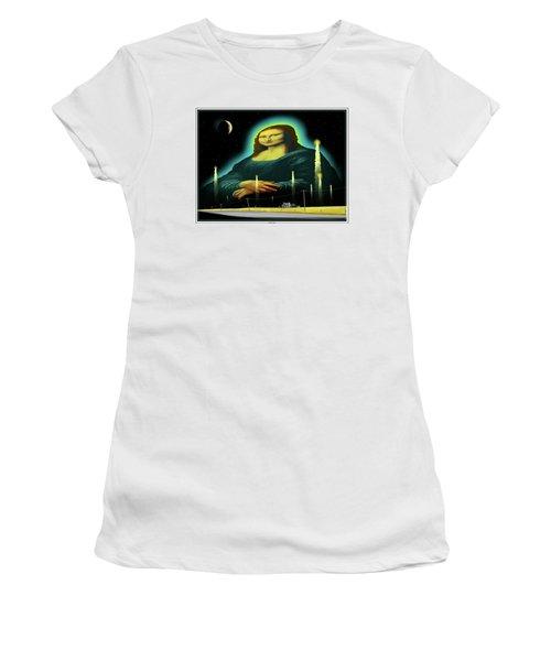 Candles For Mona Women's T-Shirt (Junior Cut) by Scott Ross