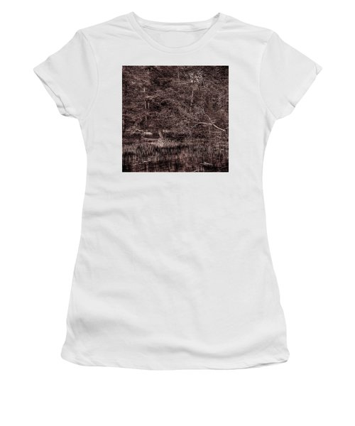 Canoe In The Adirondacks Women's T-Shirt