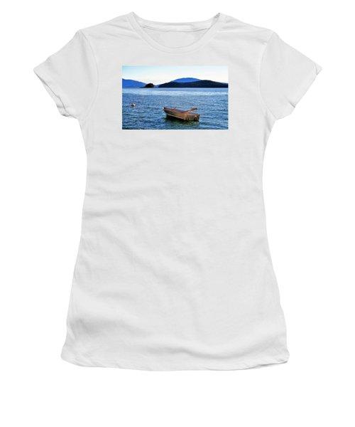 Canoe Women's T-Shirt (Junior Cut) by Martin Cline