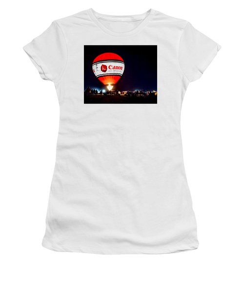 Canon - See Impossible - Hot Air Balloon Women's T-Shirt
