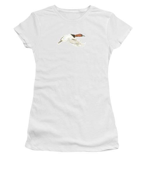 Canvasback Women's T-Shirt (Athletic Fit)