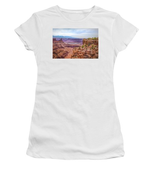 Women's T-Shirt featuring the photograph Canyon Landscape by James Woody
