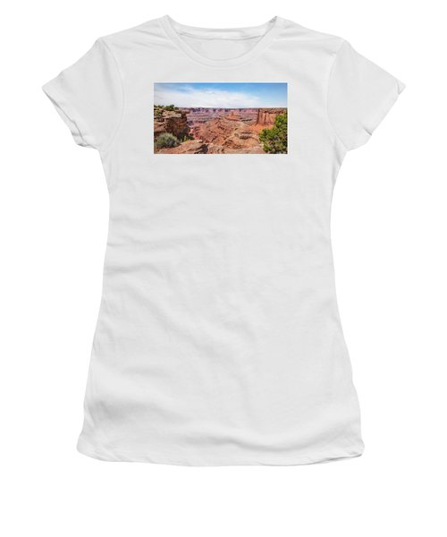 Women's T-Shirt featuring the photograph Canyonlands Near Moab by James Woody