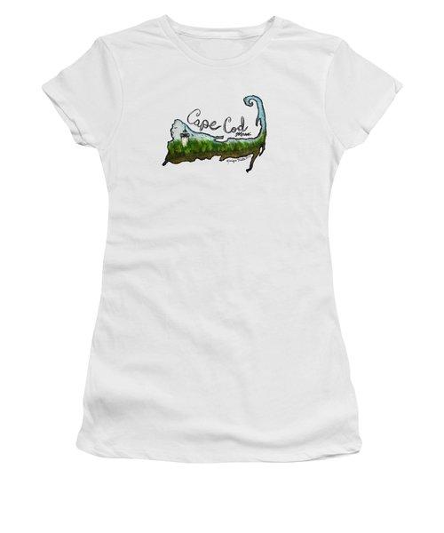 Cape Cod, Mass. Women's T-Shirt