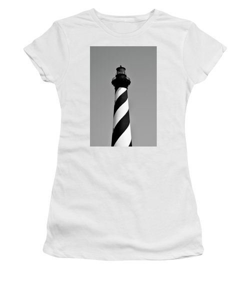 Cape Hatteras Island Light Women's T-Shirt (Athletic Fit)