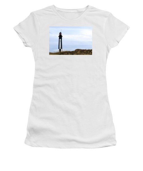 Cape Henry Lighthouse Women's T-Shirt (Athletic Fit)