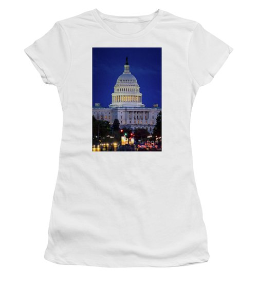 Capitol At Dusk Women's T-Shirt