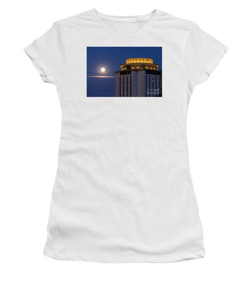 Capstone House And Full Moon Women's T-Shirt