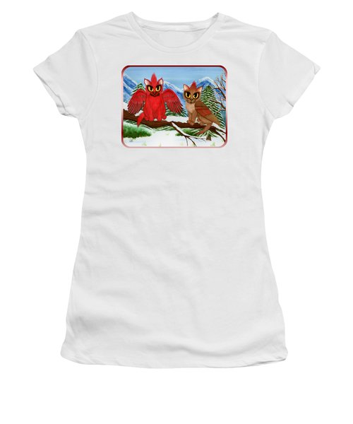 Cardinal Cats Women's T-Shirt