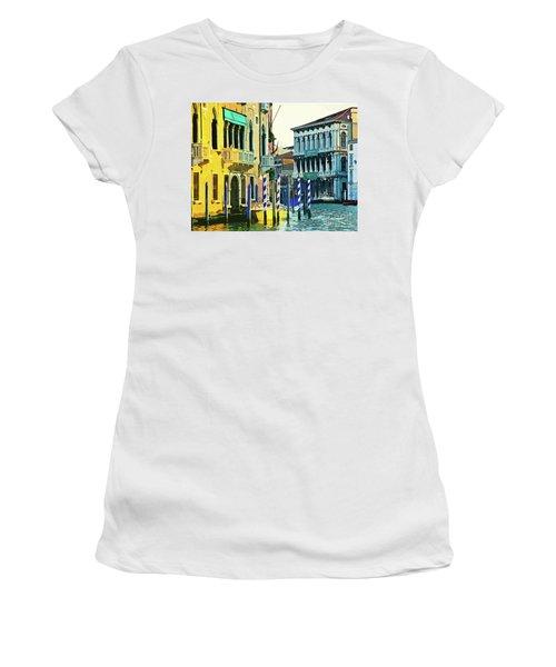 Ca'rezzonico Museum Women's T-Shirt (Junior Cut) by Tom Cameron