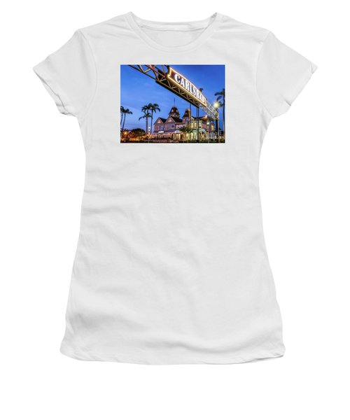 Carlsbad Welcome Sign Women's T-Shirt