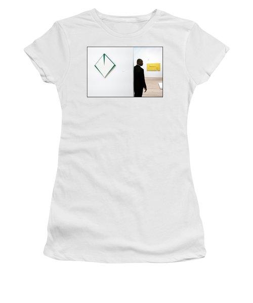 Carmen Herrera At The Whitney 1 Women's T-Shirt