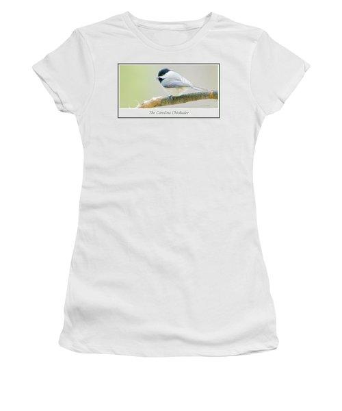 Carolina Chickadee, Animal Portrait Women's T-Shirt