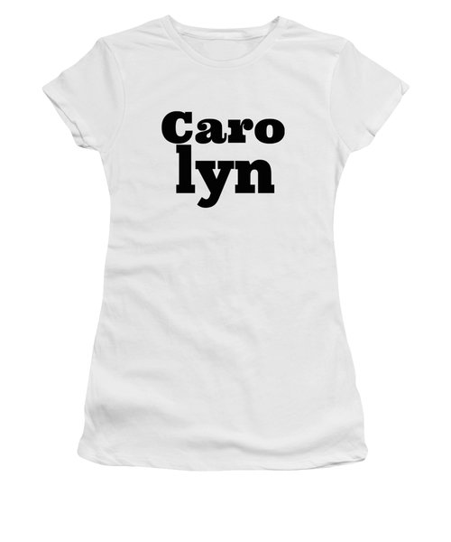 Carolyn Women's T-Shirt (Athletic Fit)