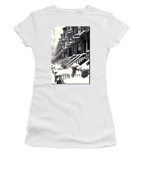 Carroll Street Women's T-Shirt (Athletic Fit)