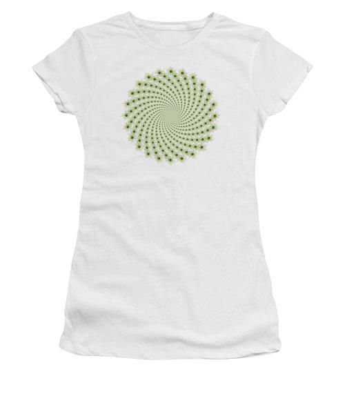 Carrot Vortex Women's T-Shirt (Athletic Fit)