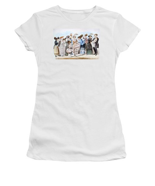 Cartoon: Womens Rights Women's T-Shirt